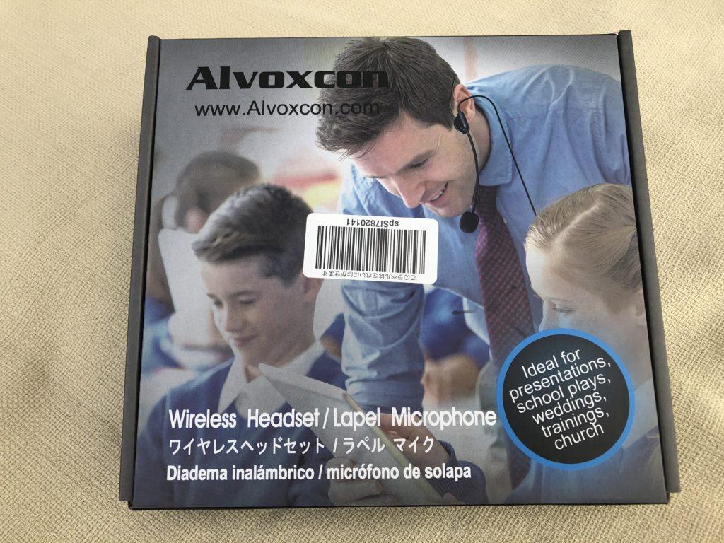 Alvoxcon ワイヤレスマイク ヘッドセット パッケージ