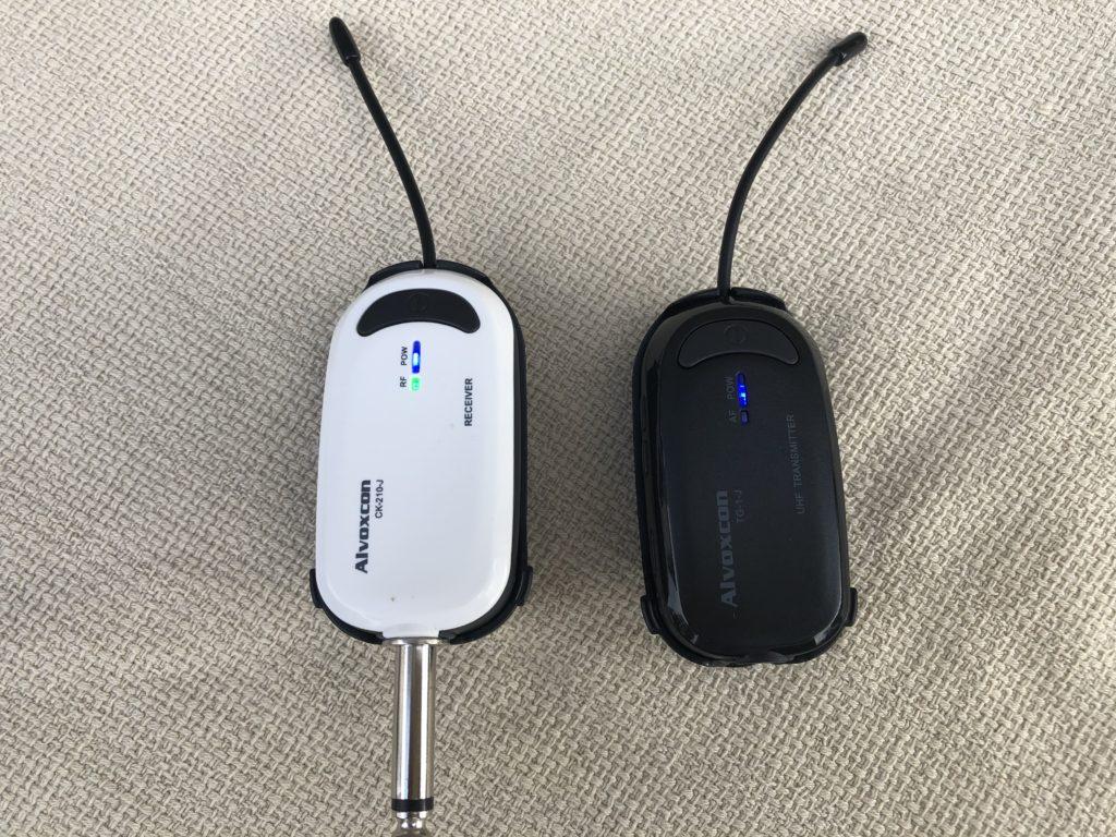 受信機と送信機
