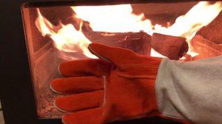 薪ストーブ用手袋