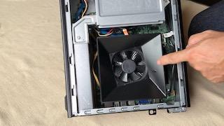 パソコン内部掃除後
