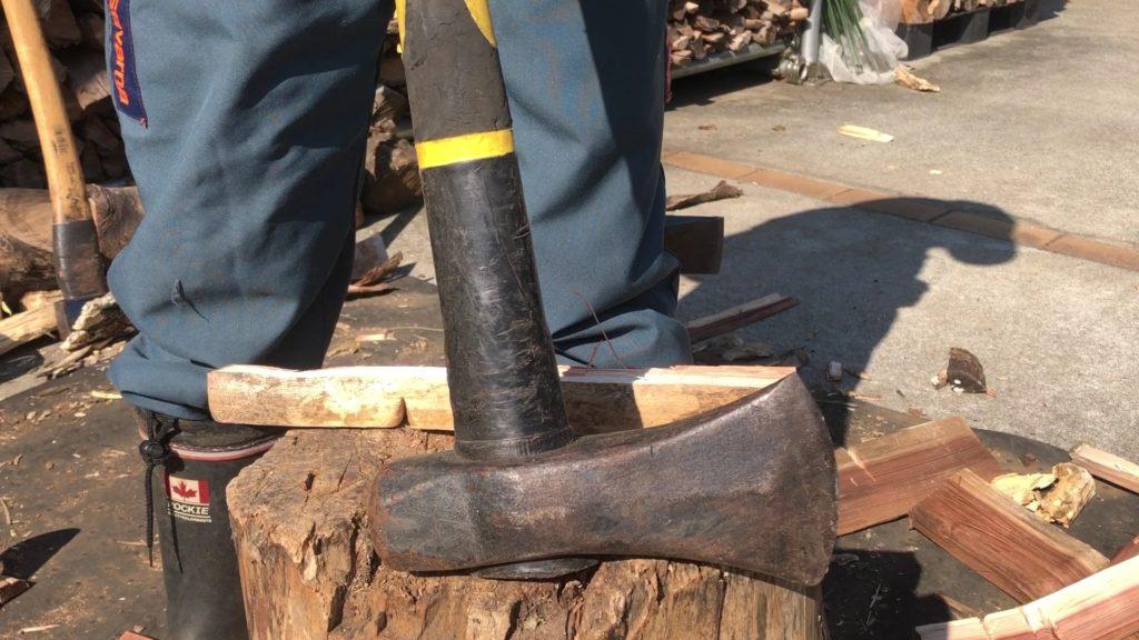 メキシコ製斧